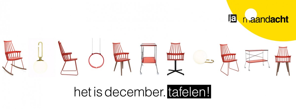Het Is December. Tafelen!