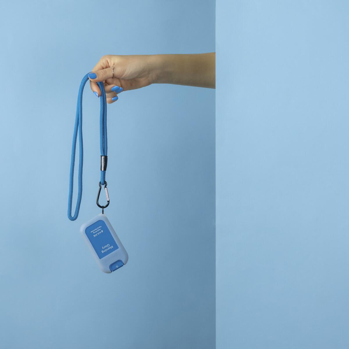 HAAN Hand Sanitizer Pocket + Case & Lanyard Morning Glory