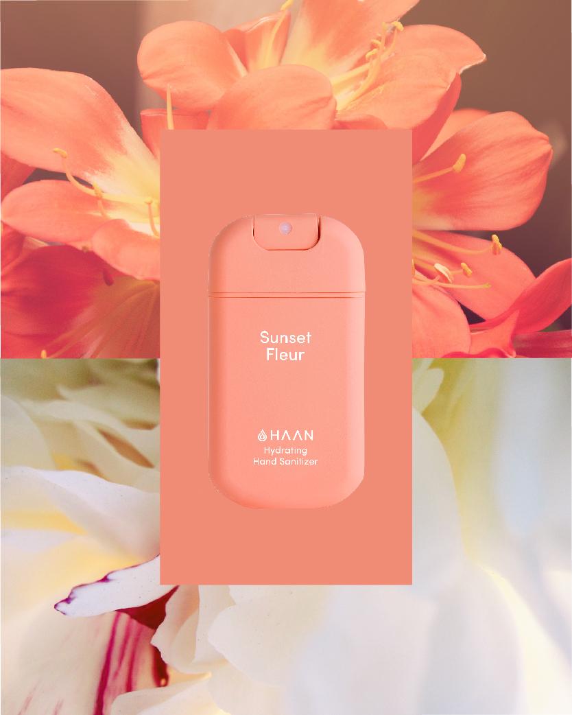 HAAN Hand Sanitizer Sunset Fleur