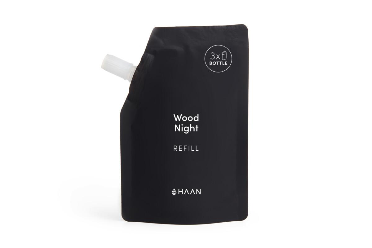 HAAN Hand Sanitizer Refill Wood Night