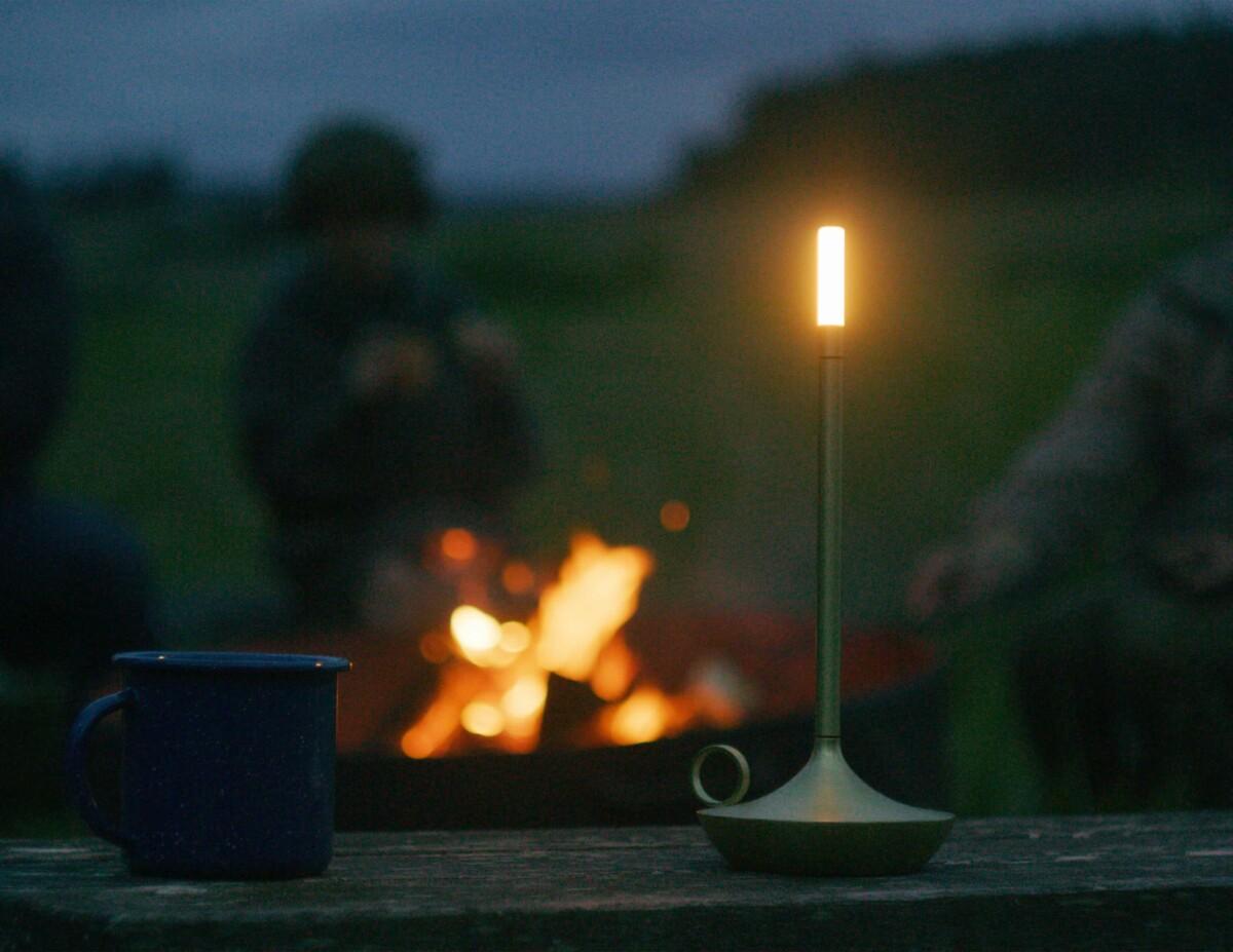 Wick Candlelight Brass