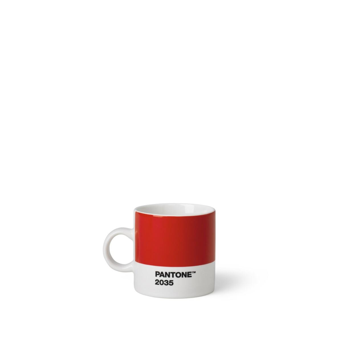 Espresso Beker Rood