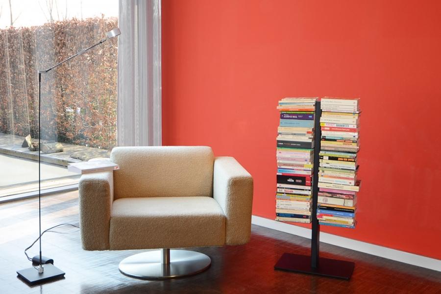 Booksbaum Staand SMALL 1 Zwart