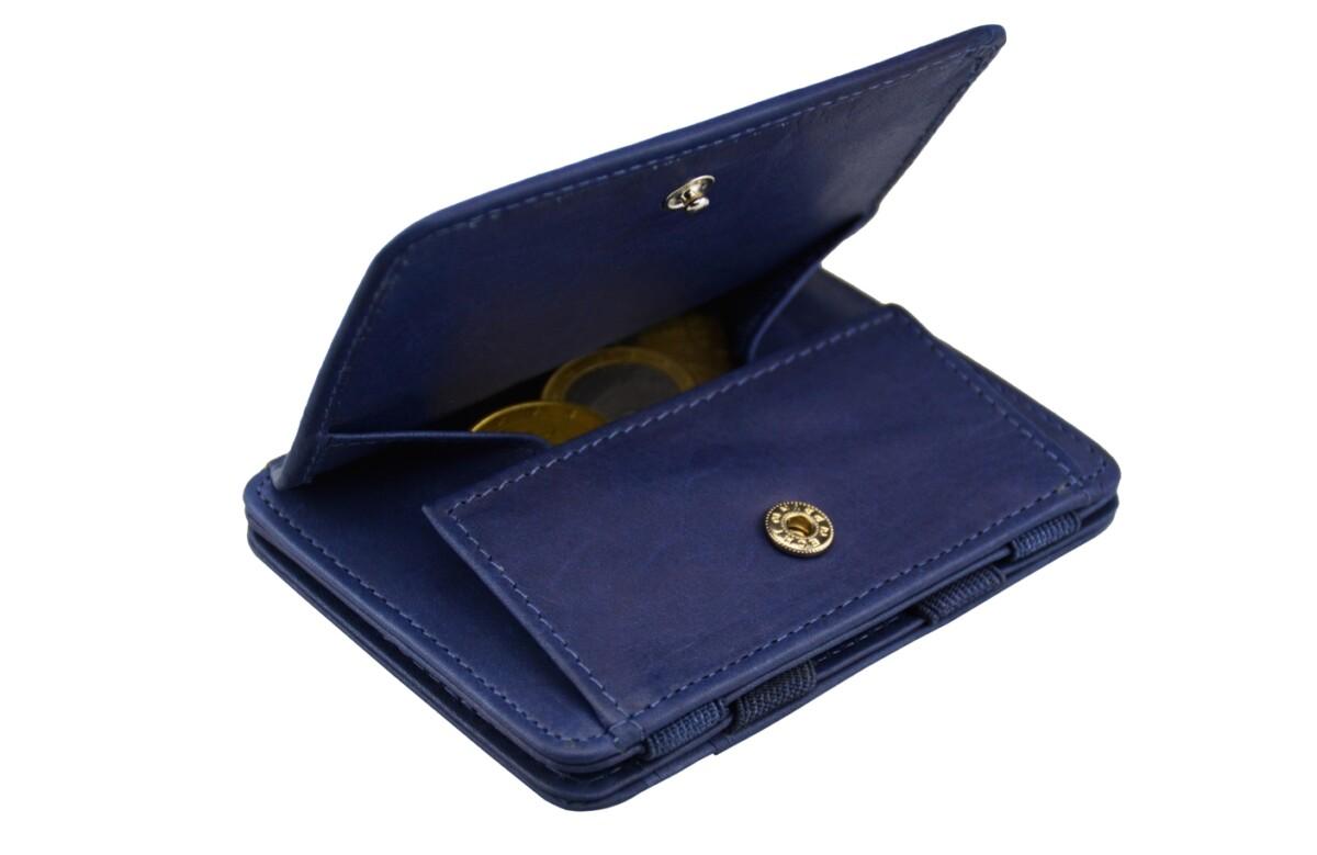 Magic Coin Wallet Blue