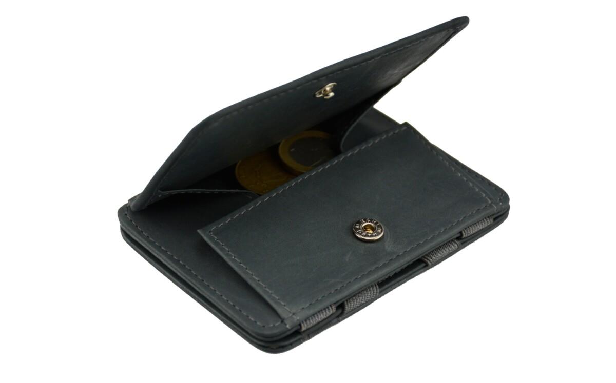 Magic Coin Wallet Grey