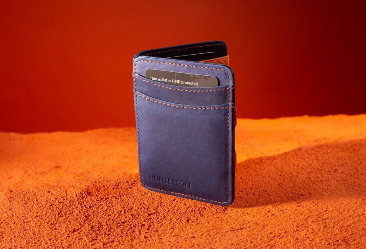 Magic Wallet Blue-orange