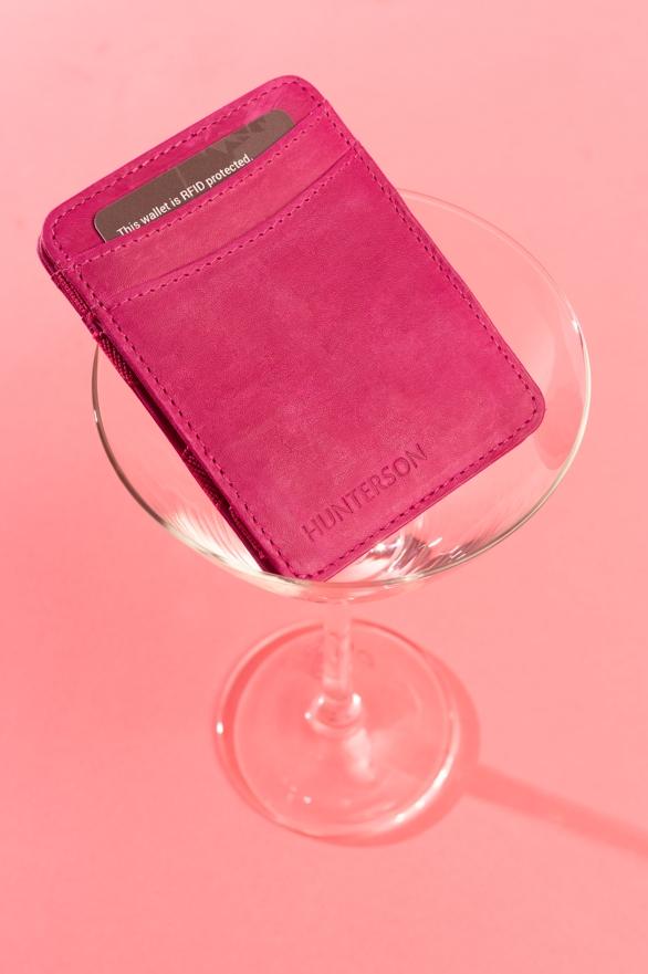 Magic Wallet Raspberry
